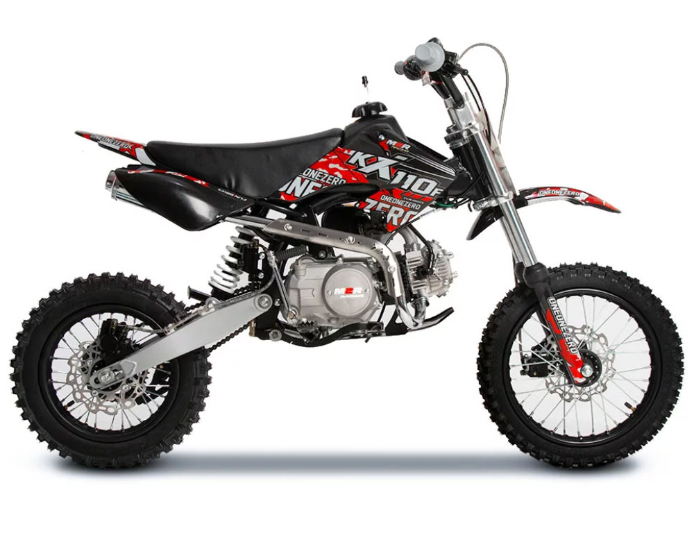 M2R RACING KX110F - Black and Red